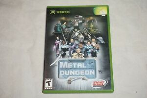 Metal Dungeon (Microsoft Xbox) Complete