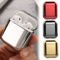 1Pc Plating Hard PC Case Protective Shell For Apple AirPods 2 Charging Case
