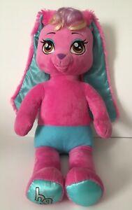 "Build a Bear Honey Girl HG Risa Pink Bunny Rabbit Plush 20"" Toy Doll"
