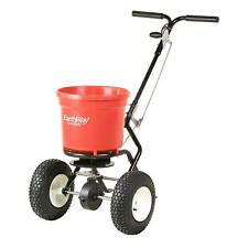 Earthway Products 50lb Commercial Broadcast Walk Behind Seed And Salt Spreader