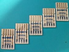 25 Nähmaschinen Schmetz Universal Nadel-Flachkolben Nadel für Haushalt Maschinen