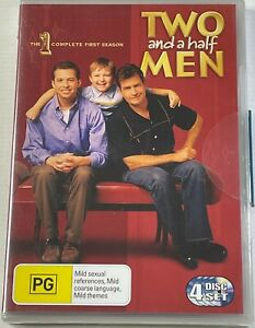 Two And A Half Men: Season 1(DVD) PAL Region 4 Free Postage NEW SEALED