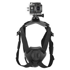 Dog Pet Fetch Hound Harness Chest Strap Belt Mount For GoPro Hero 3 3+ 4 Ca O7N5