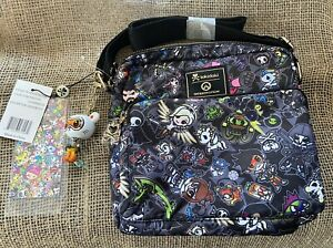 Tokidoki Overwatch - Crossbody Bag - 2 Compartments with Purple Interior