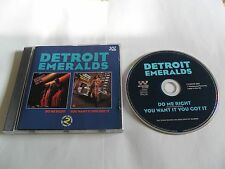 Detroit Emeralds - Do Me Right/You Want It You Got It (CD 1993) UK Pressing