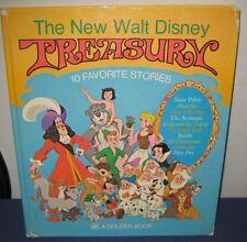 "Vintage Big Golden Book ""THE NEW WALT DISNEY TREASURY""  hb/pc - #15546 - 1976"