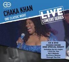 One Classic Night 5018755508813 by Chaka Khan CD With DVD