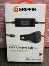Griffin iTrip Auto SmartScan FM Transmitter Car Charger iPhone 5,6,7,8,X iPod