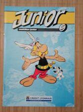 Magazine Brochure publicitaire Junior CL1987 Astétix Mézières Valerian Ben Radis