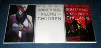 SOMETHING is KILLING the CHILDREN #11 1st print variant set JENNY FRISON virgin