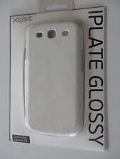 neu ° XQISIT Snap On Handy-Hülle für Samsung Galaxy S3 weiß Hartschale Cover NEU