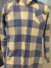 WOOLRICH Button down Long sleeve  shirt !!! Size L 14/16, Preowned !!!