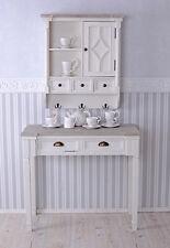 Tischkonsole Shabby Chic Konsole antik WEISS Wandtisch Konsolentisch