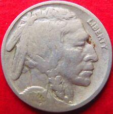1928-p  BUFFALO/INDIAN  HEAD NICKEL, Fine Circulated Philadelphia Mint Coin #4