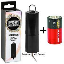 Shudehill Battery Motor Wind Spinner Crystal Twister Spiral Tails Garden Indoor