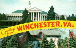 Greetings from Winchester, Virginia