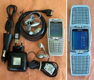 Nokia E70 QWERTZ, Mobile Phone made in Finland GOOD CONDITION!!(9300 6822 r380s)