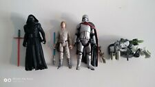lot of 3 complete set star wars action figures Hasbro toy #6