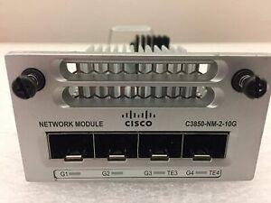 CISCO WS-C3850-NM-2-10G 3850 Series 2x10GE Network Expansion Modul 3850-NM-2-10G