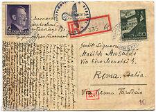 Poland Polska, Annul Tschenstochau (1942), Stamps General Gouvernement 12 + 60 m