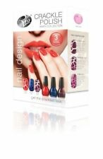 Rio Crackle Effect Polish Party Collection - Get the Crackled Look!  3 Shades