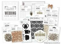 CLEARANCE! Papermania 'Wedding Ever After' - DIY Paper Card Craft Collection