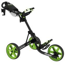 Clicgear 3.5+ Golf Trolley (Charcoal Lime) inc Drink and Umbrella Holder