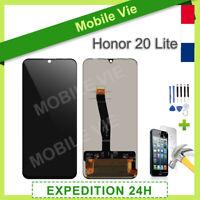 VITRE TACTILE + ECRAN LCD POUR HUAWEI HONOR 20 LITE NOIR + OUTILS / FILM / COLLE