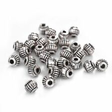 50Pcs Loose Spacer Beads DIY Jewelry Findings Antique Silver &Gold Bracelets