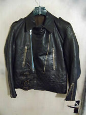 VINTAGE WW2 GERMAN LEATHER FLYING JACKET SIZE 40""