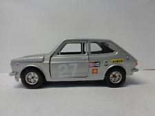 FIAT 127 TEAM - GRIGIA - 27 - MARTOYS 1:24 - DIE CAST -I22- FL