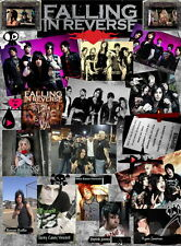 """043 Falling In Reverse - American Rock Band Music Stars 14""""x19"""" Poster"""