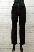 Pantalone Donna Napapijri Taglia 31 Jeans Pants Elastico Pantalon Costine Woman