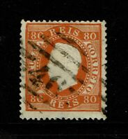 Portugal SC# 44e, Used, very shallow, sm center thin, perf 12.5 - S10053