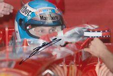 Mika Salo Hand Signed Scuderia Ferrari 12x8 Photo F1 1.