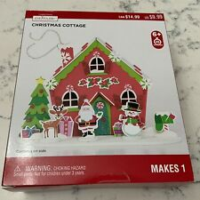 Christmas Cottage Christmas Creatology Foam Craft New Makes 1 New In Box