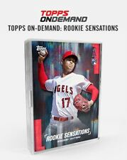2018 TOPPS ON DEMAND ROOKIE SENSATIONS (30) CARD SET SHOHEI OHTANI  LIVE IN HAND