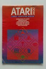 Retro catalogo dei GIOCHI PER ATARI 2600