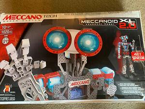Meccano Erector Meccanoid XL 2.0 Robot Building Kit 4ft