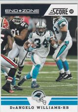 2012 DeAngelo Williams Score END ZONE Black Parallel /6 - #109  Panthers