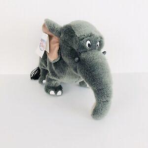 """Vintage Baby Hathi Plush Toy - Jungle Book Elephant 11"""" Disney"""