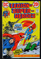 Legion of Super Heroes #1 🔥 HIGH-GRADE 1st ISSUE 🔥 1973 DC