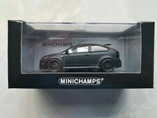 1:43 Minichamps Ford Focus RS RS500 Panther Schwarz Matt Black 400 088104