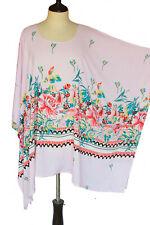 6X 7X 8X 9X Batwing Spun Rayon Caftan Plus Size Kaftan Shirt Top Tunic P2286-2