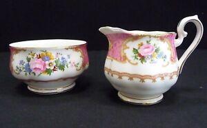 Royal Albert Lady Carlyle Sugar Bowl and Milk Jug