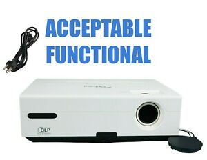 Optoma TX735 DLP Projector - Acceptable Functional w/Power Cable