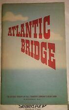 Atlantic Bridge RAF Transport Command Ocean Ferry Official Account HMSO WW2