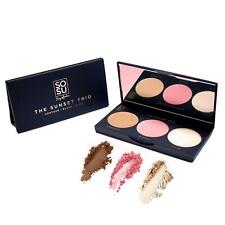 SOSU by SJ The Sunset Trio Contour Palette Champagne Highlighter Blusher Powder