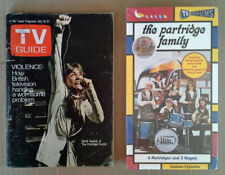 PARTRIDGE FAMILY - (3) EPISODES - VHS TAPE - STILL SEALED + D. CASSIDY TV GUIDE