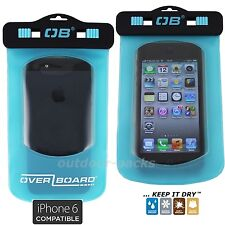 Wasserdichte Handy Tasche Outdoor Hülle Case iPhone 5 6 7 8  OverBoard  aqua